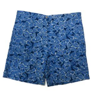 Polo Sport Swim Trunks Mens Medium Blue Floral